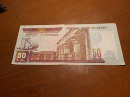 EGYPT   50   POUNDS   BILLET - Egitto