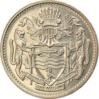 Monnaie, Guyana, 25 Cents, 1989, SUP, Copper-nickel, KM:34 - Guyana