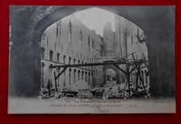 CPA Ypres - La Grande Guerre 1914-15 - Intérieur Des Halles Après Le Bombardement - Ieper