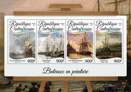 Central Africa 2017 Ships In Paintings - Repubblica Centroafricana