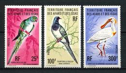 AFARS ISSAS 1976 N° 428/430 ** Neufs MNH Superbe C 31,50 € Faune Oiseaux Perruche Birds Animaux - Nuovi