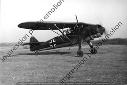 PHOTO AVION  RETIRAGE REPRINT   ALLEMAND A Identifier - Aviation