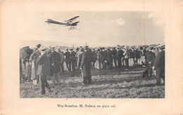 Viry - Aviation - M. Dufaux En Plein Vol - Viry-Châtillon