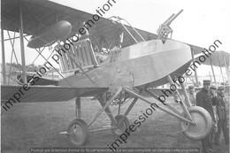 PHOTO AVION  RETIRAGE REPRINT   VOISIN CANON - Aviazione