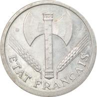Monnaie, France, Bazor, 2 Francs, 1943, Beaumont - Le Roger, SUP, Aluminium - I. 2 Francs