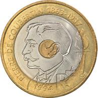 Monnaie, France, Pierre De Coubertin, 20 Francs, 1994, Paris, SPL, Tri-Metallic - L. 20 Franchi