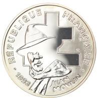 Monnaie, France, Jean Moulin, 100 Francs, 1993, BE, FDC, Argent, KM:1023 - N. 100 Franchi