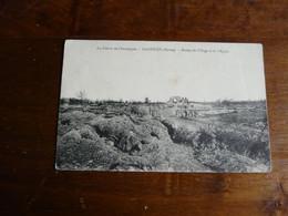 La Guerre En Champage - MASSIGES (Marne) - Ruines Du Village Et De L'Eglise - War 1914-18