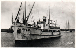 Belle-Ile-en-Mer - Bateau Poste (Guédel) Qui Assure La Traversée De Quiberon - Edition Nozais, Carte N° 149 Non Circulée - Sonstige