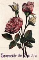 Souvenir De Landau - Roses - Carte Colorisée Avec Paillettes De 1919 - N° 4240 4 - Gruss Aus.../ Gruesse Aus...