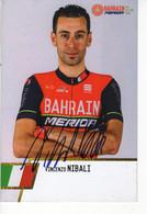 VINCENZO  NIBALI  SIGNEE BAHRAIN 2017 - Cycling