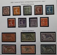 ALAOUITES Série De 1925 N° 1 à 15** (qqs*) (107) - Neufs