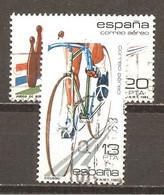 España/Spain-(usado) - Edifil  2695-96  - Yvert  Aéreo 302-03 (o) - Usados