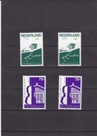 1988 Concertgeb. Orkest NVPH 1412-1413 Postfris/MNH/** + Used Full Gum - Unused Stamps