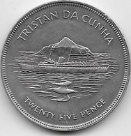 Tristan Da Cunha - 25 Pence 1977 - SUP - Other - Africa