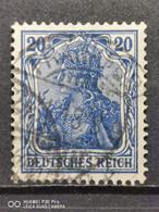Deutsche Reich Mi-Nr. 87 Ll C Gestempelt Geprüft - Gebraucht