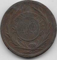 Uruguay - 40 Centesimos 1857 - TB - Uruguay