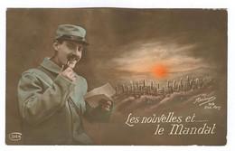 G145 - MILITARIA -Soldat - Les Nouvelles Et ... Le Mandat - M.Boulanger - Visé Paris - Patriottisch