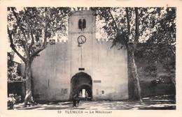 Algérie - TLEMCEN - Le Méchouar - Philatélie Cachet Hexagonal En Pointillés Terny - Tlemcen