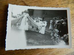 BELGIQUE :TRES BELLE PHOTO 6X9  ENDROIT A SITUER PEUT ETRE WASMES??AVEC LA PUCELETTE - Autres