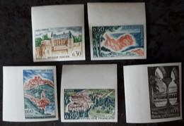 FRANCE Non Dentelé BdF Série De 1964 N° 1390 à 1394** (115) - Imperforates