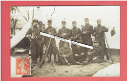 CAMP D AUVOURS CHAMPAGNE 1913 CARTE PHOTO 102° INFANTERIE DESTINATAIRE LEON RAIMBERT A LA MOTTE A FLACEY EURE ET LOIR - Altri Comuni