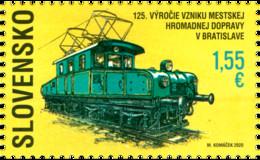 Slowakije / Slovakia - Postfris / MNH - Treinen 2020 - Neufs