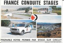 78 - THIVERVAL -  FRANCE CONDUITE STAGES  - VOITURE - AUTO - BUS-  AUTOCAR - RENAULT 14 - Unclassified