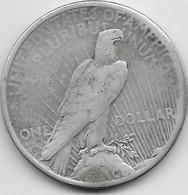 Etats Unis - Peace Dollars - 1922 - TB - 1921-1935: Peace