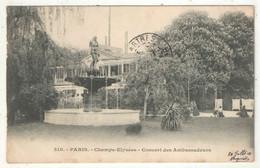 75 - PARIS 8 - Champs-Elysées - Concert Des Ambassadeurs - 1903 - Champs-Elysées