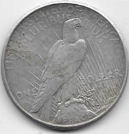 Etats Unis - Peace Dollars - 1925 - TTB - 1921-1935: Peace