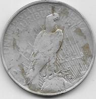 Etats Unis - Peace Dollars - 1927 - TTB - 1921-1935: Peace