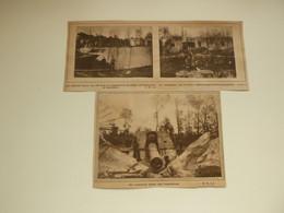 """Origineel Knipsel ( 3305 ) Uit Tijdschrift """" Ons Land """"  1919 : Guerre Oorlog 1914 - 1918   Moere  Koekelare Kanon - Ohne Zuordnung"""