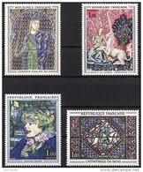 FRANCE 1964 -  SERIE Y.T. N° 1424 A 1427 - 4 TP NEUFS** - Unused Stamps