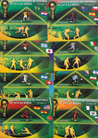 MADAGASCAR  BF ( X8 ) * * Cup 2014 Football Soccer Fussball Groupe A à F - 2014 – Brazilië