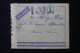 MAROC - Enveloppe De Port Lyautey Pour Sceaux En 1941 Avec Contrôle Postal YB - L 85514 - Storia Postale