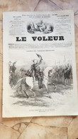 1858 LE VOLEUR VINTAGE FRANCE FRENCH MAGAZINE Newspapers NOVELS Narrative SHORT STORY STORIES VICTOR EMANUEL BEGNANTES - Magazines - Before 1900