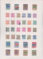 45  MARCHE DA BOLLO PER CAMBIALI   TUTTE  DIVERSE - Revenue Stamps