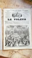 1859 LE VOLEUR VINTAGE FRANCE FRENCH MAGAZINE Newspapers NOVELS Narrative SHORT STORY STORIES LOUIS XIV SALLE DE MARBRE - Magazines - Before 1900