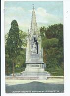 Postcard Gloucester Bishop Hooper's Monument Posted 1904 Cds - Gloucester