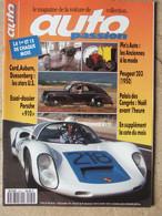 Revue Auto Passion N°60 (1er Déc 1991) Porsche 910 - Stars US - Peugeot 203 - Pin's Auto - Auto/Motorrad