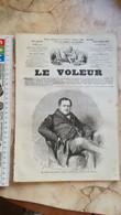 1859 LE VOLEUR VINTAGE FRANCE FRENCH MAGAZINE Newspapers NOVELS Narrative SHORT STORY STORIES Victor Emmanuel II Piémont - Magazines - Before 1900