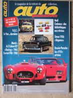 Revue Auto Passion N°61 (15 Déc 1991) Match AC Cobra427/Ferrari F40 - Simca 1956 Régence - Auto/Motorrad