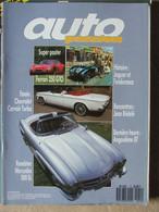 Revue Auto Passion N°12 (oct-nov 1987) Chevrolet Corvair - Roadster Mercedes - Jaguar Et L'endurance - Redelé - Auto/Motorrad