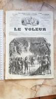 1859 LE VOLEUR VINTAGE FRANCE FRENCH MAGAZINE Newspapers NOVELS Narrative SHORT STORY STORIES LES COMPAGNONS DE L'EPEE - Magazines - Before 1900