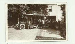 AUTOBUS CP PHOTO - Grande Bretagne Schiff Home Off Recovery Cobham Belle Animation Bon état - Autobus & Pullman