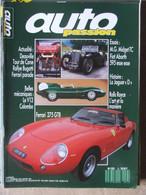 Revue Auto Passion N°13 (janv 1988) MG Midget TC - Fiat Abarth - Jaguar D - Ferrari 275 GTB - Auto/Motorrad