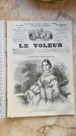 1859 LE VOLEUR VINTAGE FRANCE FRENCH MAGAZINE Newspapers NOVELS Narrative SHORT STORY STORIES Marie Clotilde De Savoie - Magazines - Before 1900