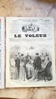 1859 LE VOLEUR VINTAGE FRANCE FRENCH MAGAZINE Newspapers NOVELS Narrative L'Épée BILLY BOWLEGS - Magazines - Before 1900