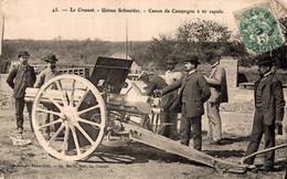 """71 LE CREUSOT 3CPA  """"Essais Canon""""   (-20gr) - Le Creusot"""